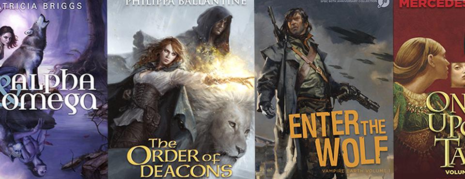Fantasy & Science Fiction book jackets