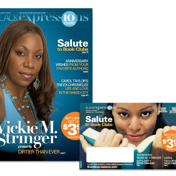 Black Expressions direct mail